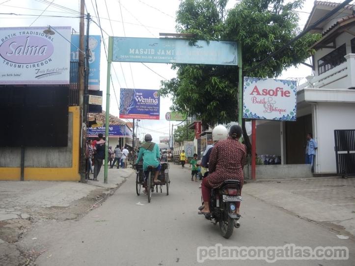 Trusmi, kawasan di Cirebon sebagai sentra batik.