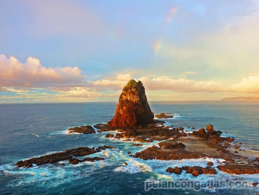 Rainbow over Papuma