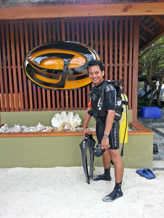 Before dive..