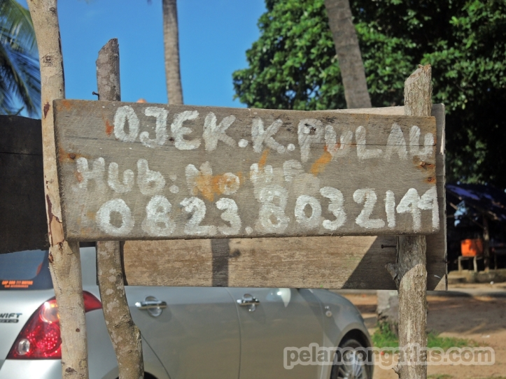 Ojek ke Pulau Lampu