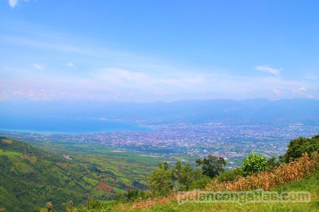 Pemandangan Kota Palu dari Matantimali, ciamik banget!